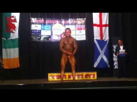 Rituraj Sharma mr North Staffordshire posing routine to fort minor remix