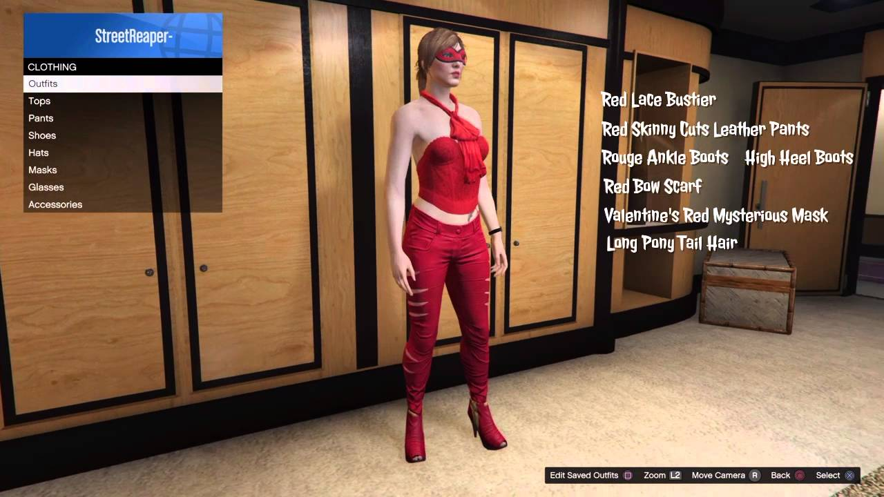 GTA 5 Online Female Character Outfits U0026quot; Black Widow ...