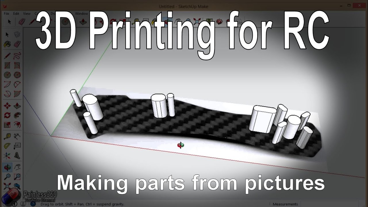 (7/7) 3D Printing for RC: Making replacement RC parts ...