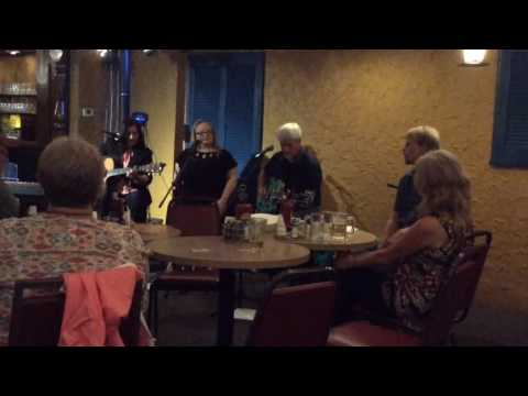 MENLO PARK performing at CHUCK'S RESTAURANT in Des Moines, Iowa on Sept. 9, 2016