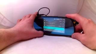 видео Зеркало EPLUTUS D10 с двумя камерами и сенсорным экраном