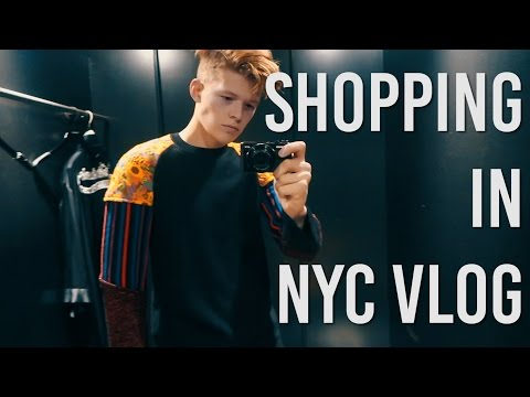 Shopping In Manhattan and Finding A Gym (2017 Vlog 3)