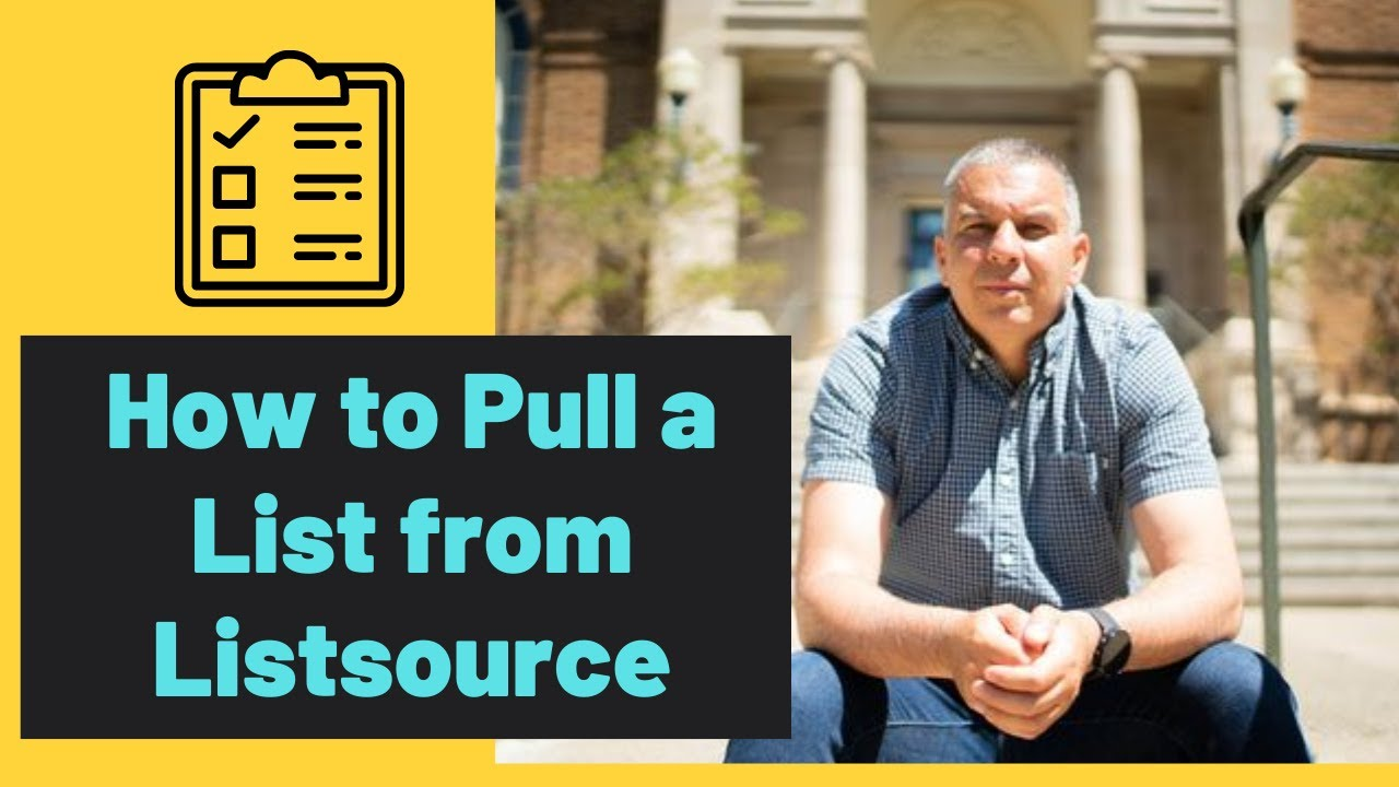 How to get a High Equity List from Listsource for Virtual Wholesaling  Marketing