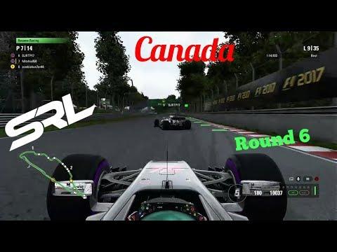 F1 2017 SRL APAC Season 2  Round 6 Canada - CHANGING WEIRD RACE