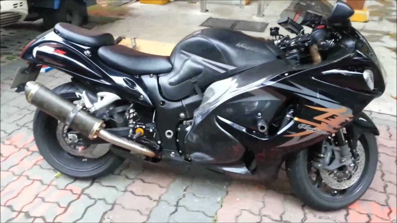 Hayabusa k9 two brothers dual v a l e slip on 2008 12