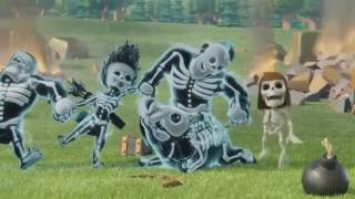 CLASH OF CLANS FULL MOVIE! All COC Commercials Compilation COC MOVIE x264