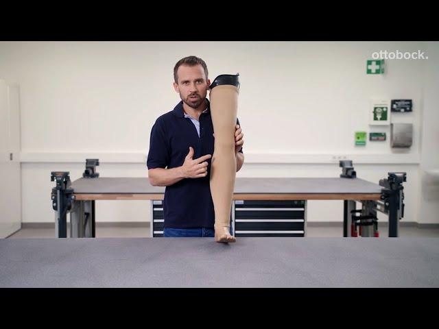Функциональная косметическая оболочка протеза. Руководство по изготовлению. Видео для специалистов