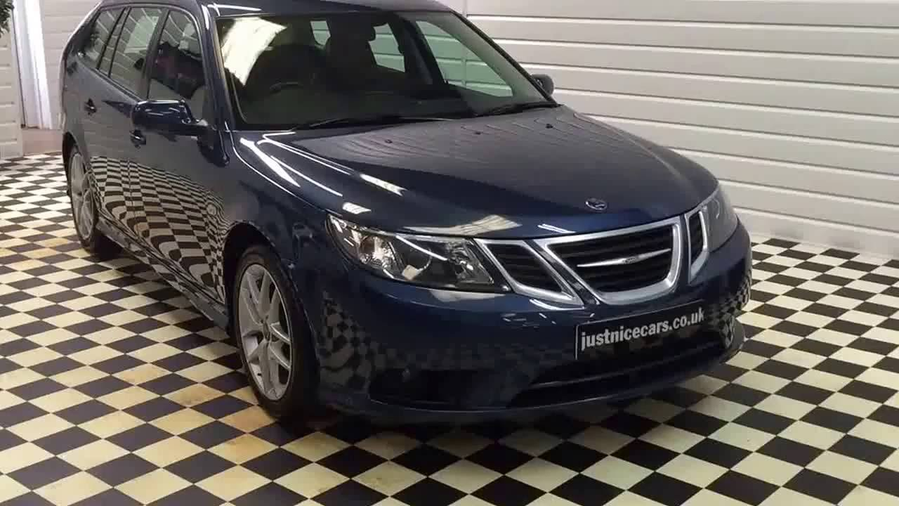2008 08 Saab 9 3 SportWagon Estate Vector 20 175BHP Automatic Sorry Now Sold