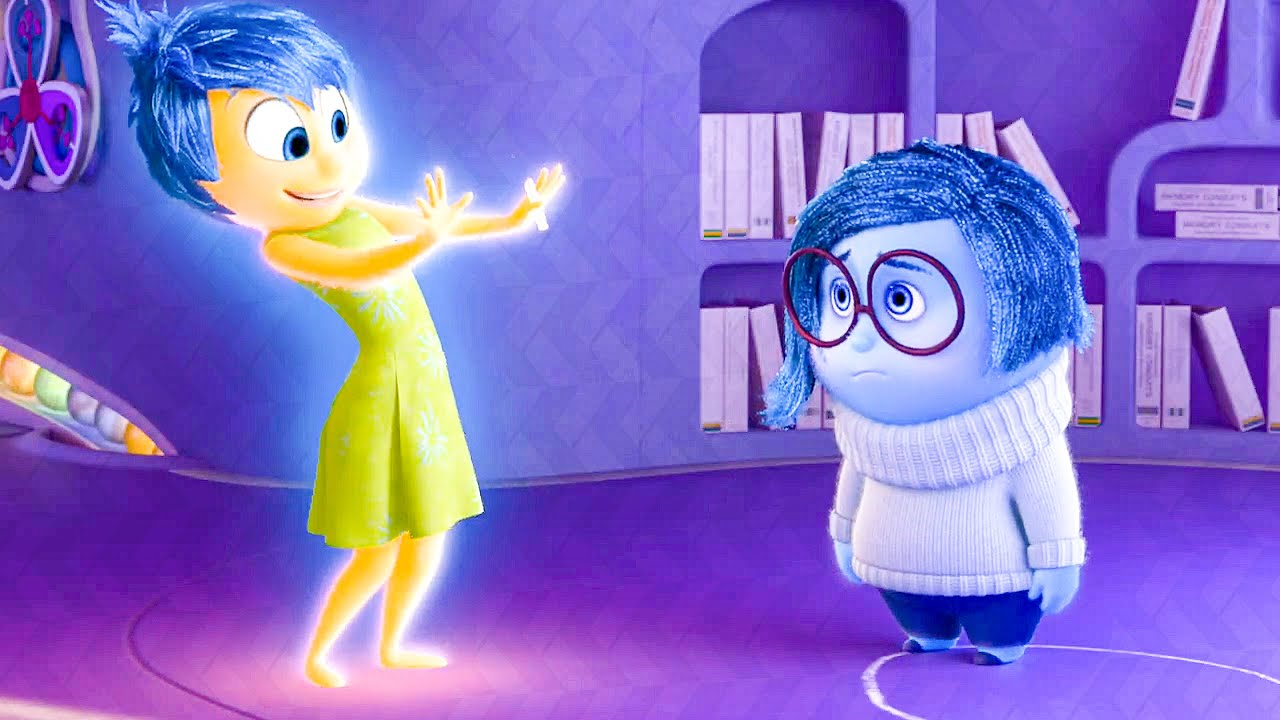 The Circle Of Sadness Scene Inside Out 2015 Movie Clip Youtube