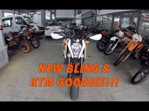 GakiMoto 70 : 13 Getting Some Bling KTM Power Parts!