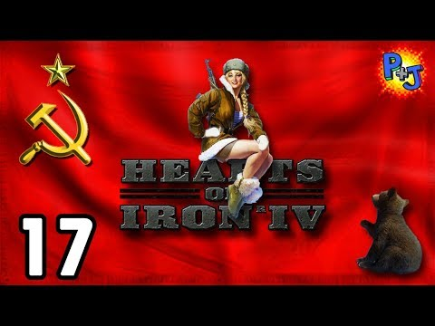 Let's Play Hearts of Iron 4 Soviet Union | HOI4 USSR Elite Gameplay | World Revolution Part 17