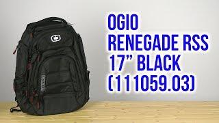 Розпакування OGIO Renegade RSS 17 Black 111059.03
