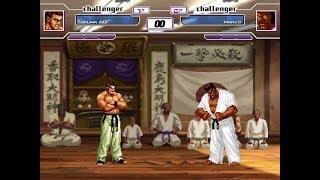 mugen無限格鬥- 坂崎琢磨 vs 馬克