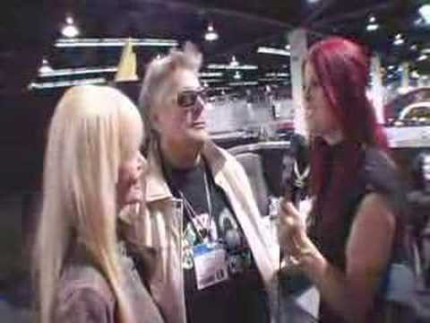 Leslie West Of Mountain At DEAN GUITARS NAMM 2008