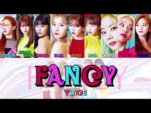 【カナルビ】FANCY/TWICE/트와이스/トゥワイス/日本語訳/歌詞/カナルビ - YouTube