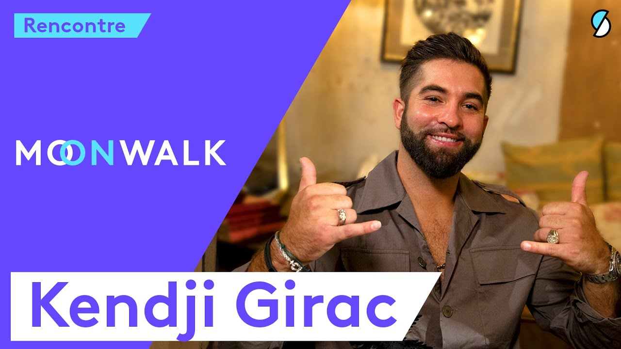 Kendji Girac : sa famille, la religion, Gims, être triste, The Voice - L'interview Moonwalk