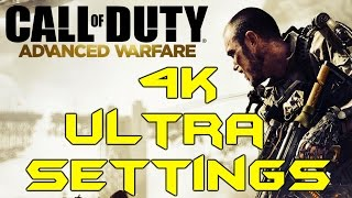 COD:AW PC 4K ULTRA GRAPHICS (Titan X Max Settings Gameplay)