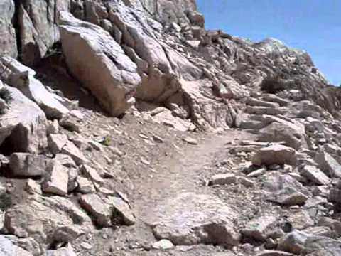 Climbing Mount Whitney in Mid July