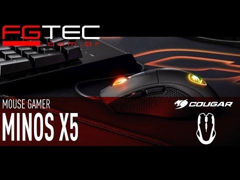 Mouse Cougar Minos X5 [PT-BR]