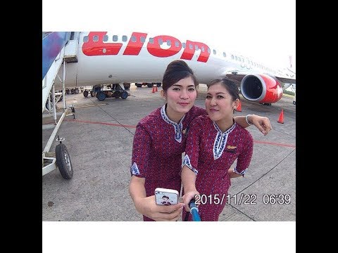 5 five video Hot Pramugari Flight attendant Lion Air