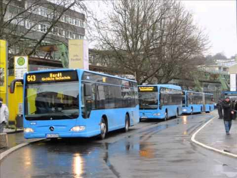 [Sound] Bus Mercedes O 530 K (Wagennr. 1251) der WSW mobil GmbH, Wuppertal
