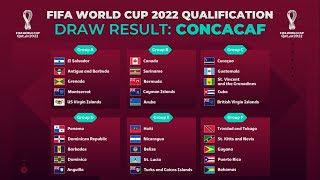 FIFA WORLD CUP 2022 QUALIFICATION | CONCACAF DRAW RESULT