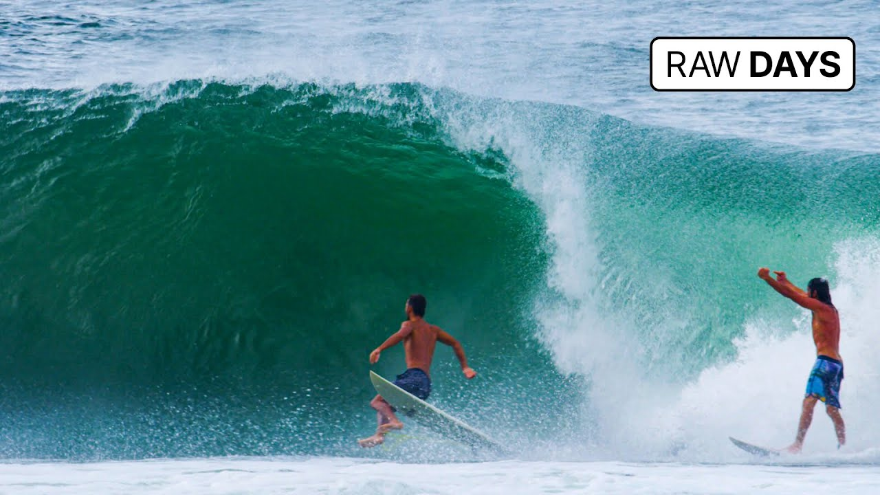RAW DAYS | Kirra, Gold Coast, Australia | Epic Right-hander Barrels