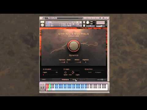 Symphony Series - String Ensemble: Mixer page