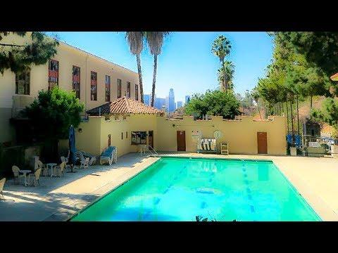 A Walk Around the Los Angeles Police Academy, Elysian Park, Los Angeles