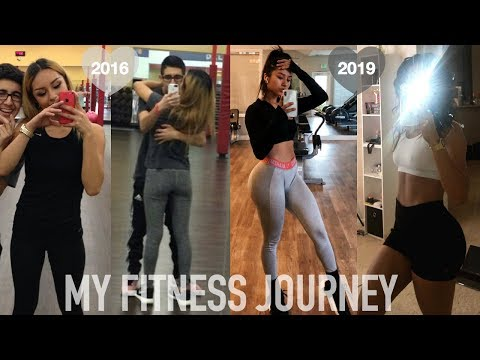 MY FITNESS TRANSFORMATION while battling an EATING DISORDER