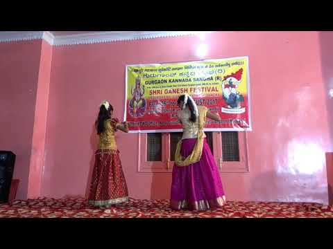 Gopala ba Govinda ba dance by Soumya & Shruti.