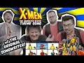 X-Men Theme Song Composer Ron Wasserman Reacts to Covers of His Song! | RKVC | Band vs Internet