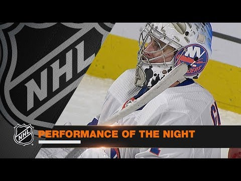 Thomas Greiss turns away 52 shots in Isles' OT victory