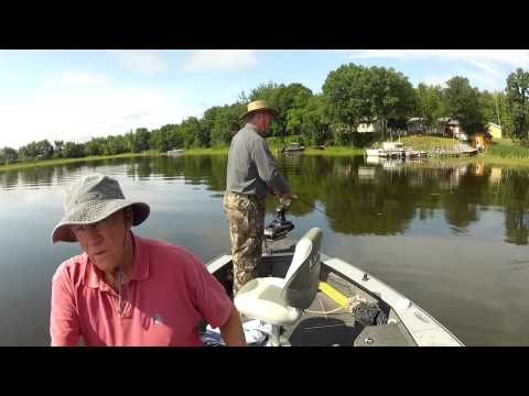Minnesota Northern Pike Fishing - Lake Of The Woods Fishing Report Video 7-26-12
