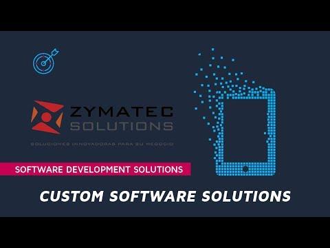 A unique Custom software development Company - Zymatec Solutions