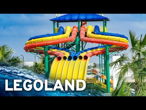 LEGOLAND DUBAI WATER PARK: All Waterslides – GoPro POV!