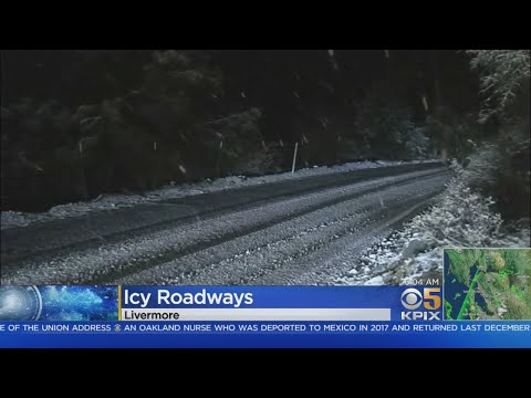 Team Coverage: Bay Area Sees Rare Snowfall