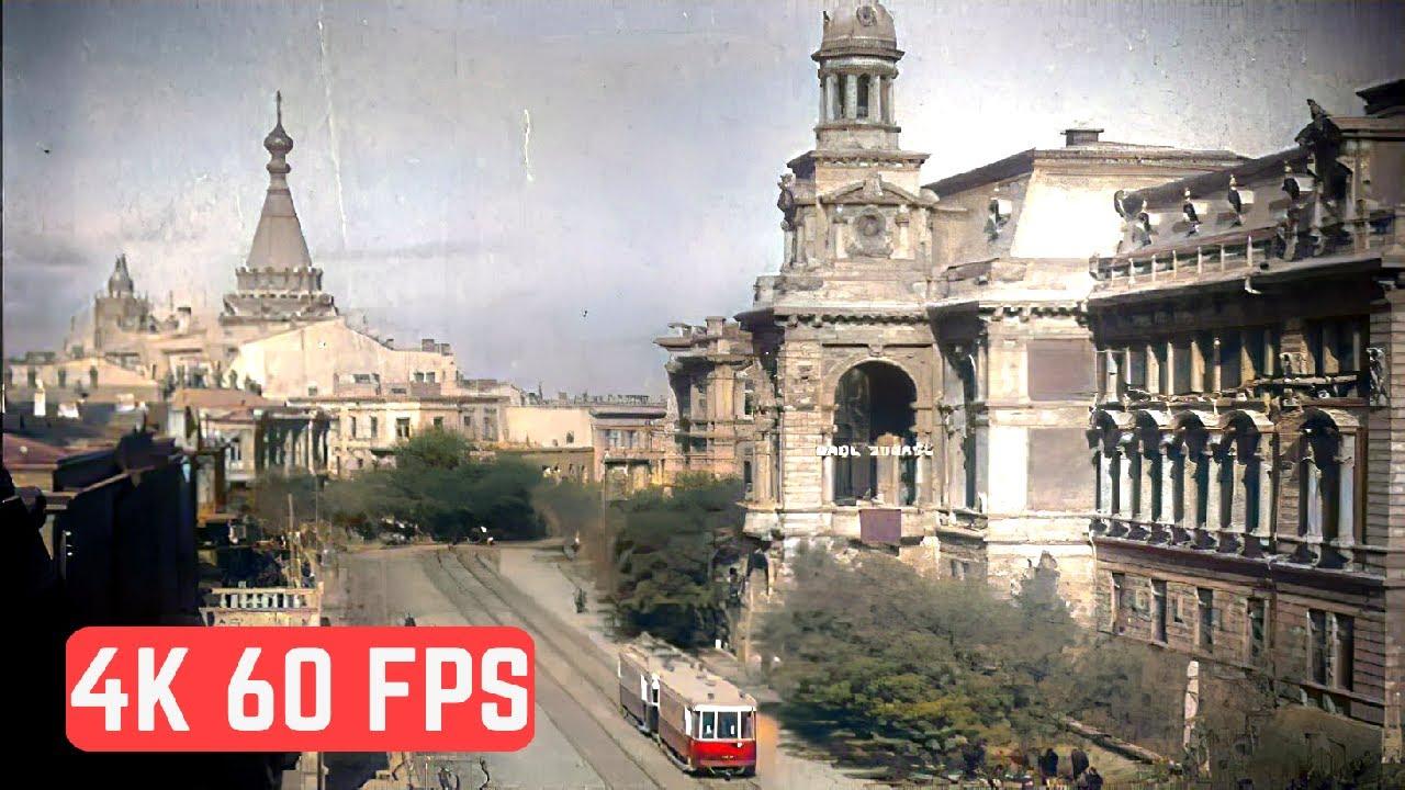 [4K, 60 fps] Baku in 1930s 🇦🇿/ 1930-cu illərdə Bakı 🇦🇿