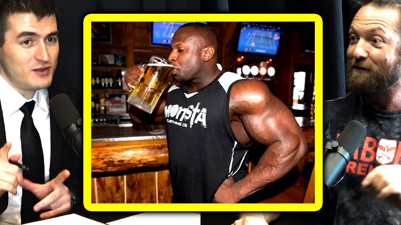 Chris Duffin recommends a shot of vodka before heavy lifting | Lex Fridman Podcast Clips