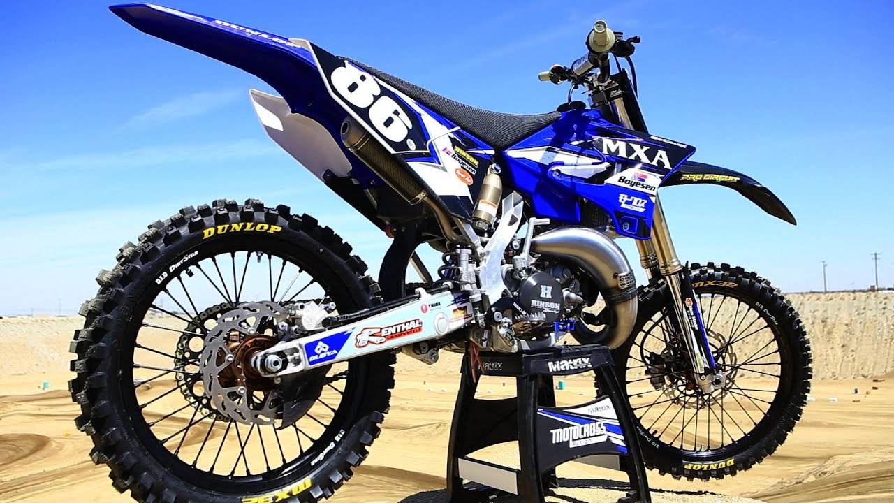 project 2015 yamaha yz 125 2 stroke motocross action