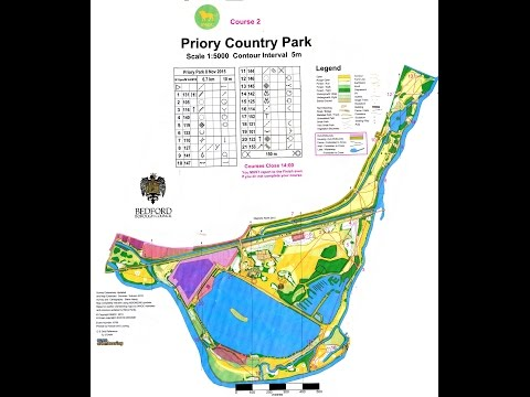 SMOC Orienteering event at Priory Country Park, Bedford 8 November 2015