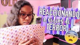REACCIONANDO A TRAILERS DE TERROR |Johanna De La Cruz