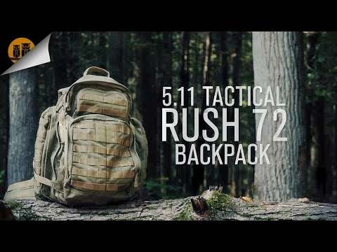 5.11 Tactical Rush 72 • Tactical Backpack • Field Review