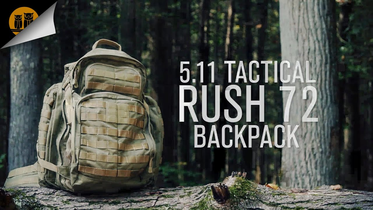 5.11 Tactical Rush 72 • Tactical Backpack • Field Review - YouTube f44d2169796da