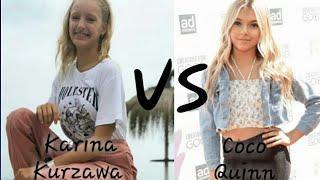 Karina Kurzawa vs Coco Quinn tik tok | NARly hearts