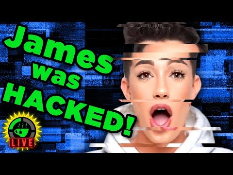 GTeaLive: James Charles was HACKED! thumbnail