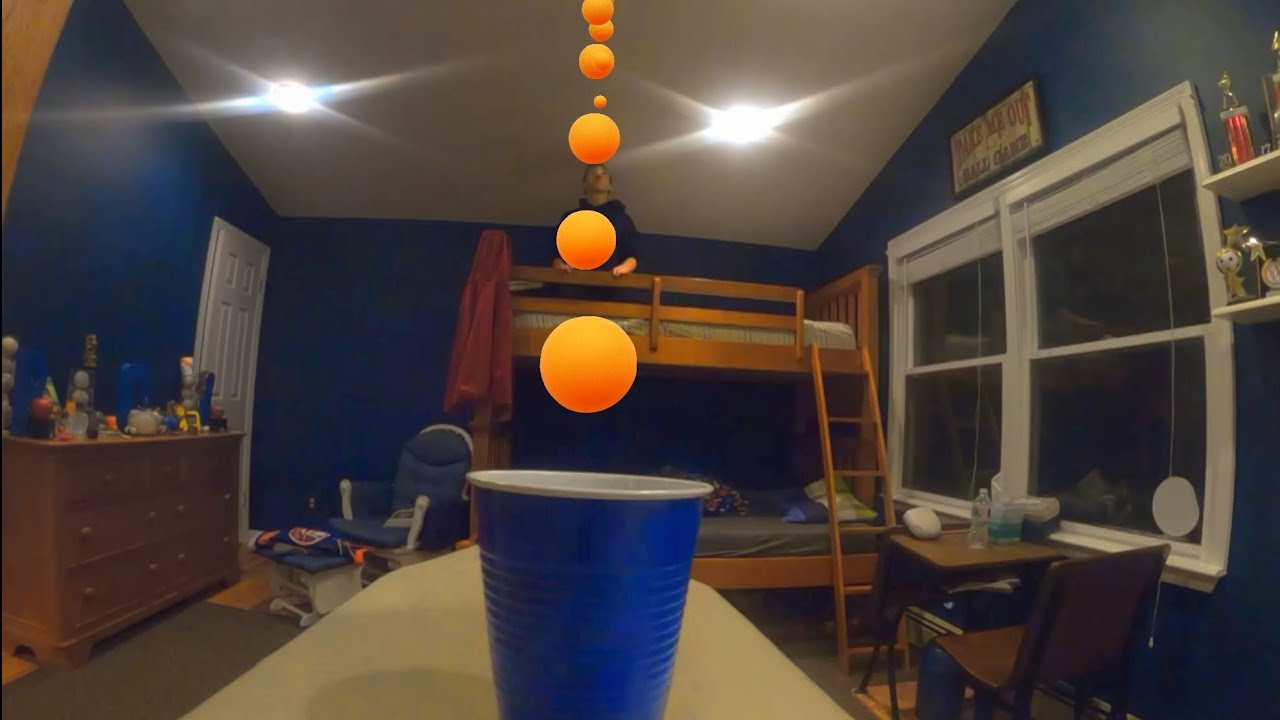 Ping Pong Trick Shot Compilation | Efficiency