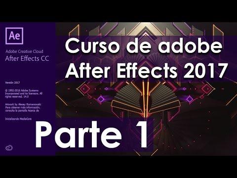 Tutorial de Adobe After Effects CC 2017 – Parte 1