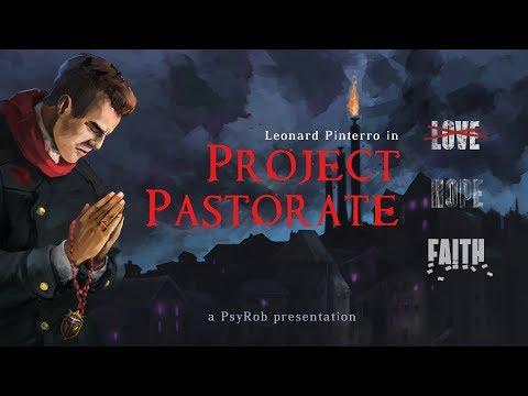 Геймплей визуальной новеллы Project Pastorate