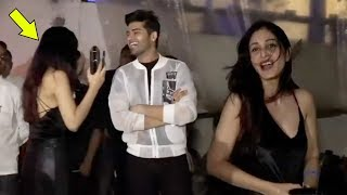 Pooja Chopra Weird Behaviour As She Snapped With Her Friend Late Night